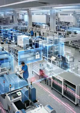 Digitalisation Industrial Security Siemens