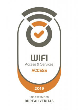 logo wifi performance niveau access