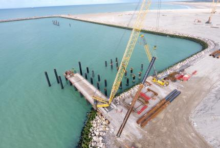 alt contruction d'un port